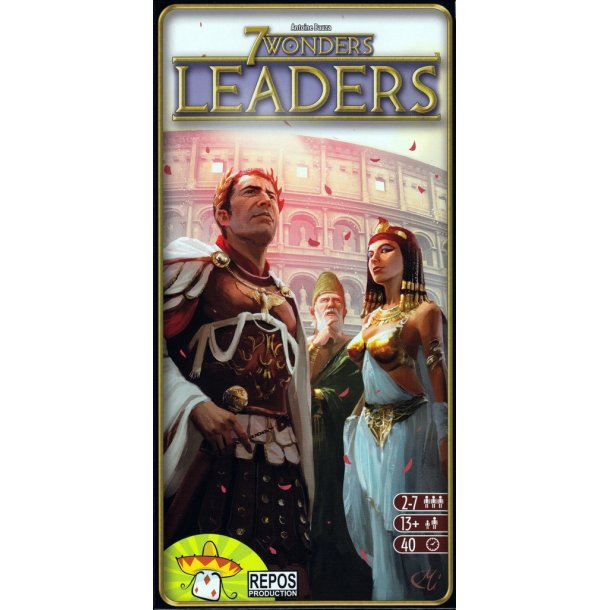 7 Wonders: Leaders - EN