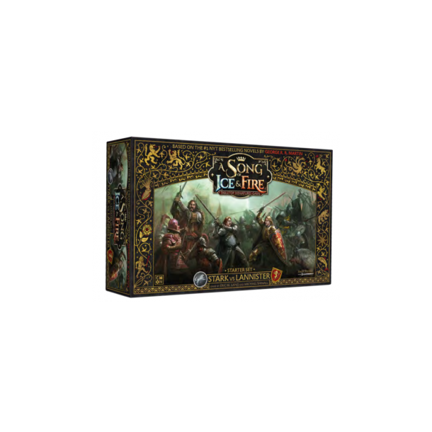 A Song Of Ice And Fire Board Game: Stark Vs Lannister Starter Set - EN