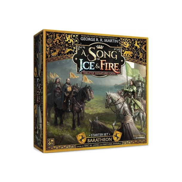 A Song of Ice & Fire: Tabletop Miniatures Game - Baratheon Starter Set - EN