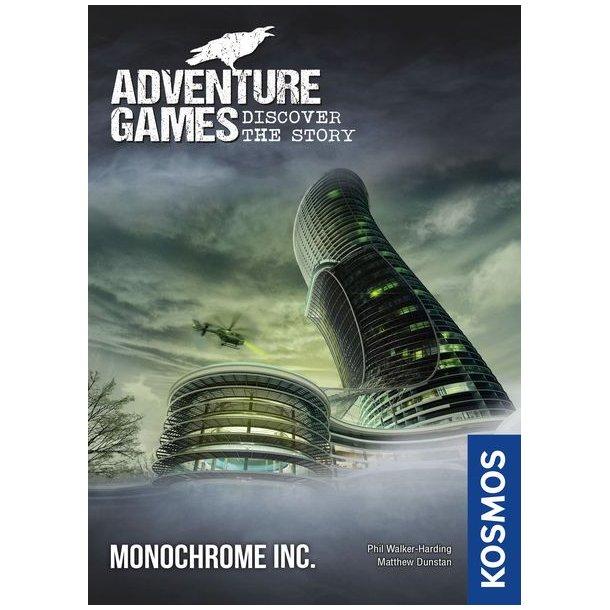 Adventure Games: Monochrome - EN