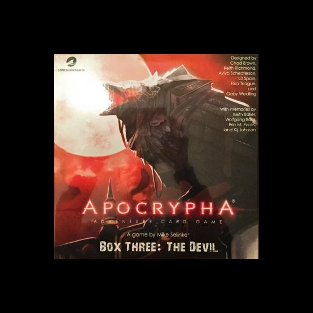 Apocrypha Adventure Card Game: Box Three - The Devil - EN