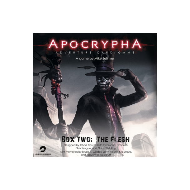 Apocrypha Adventure Card Game: Box Two - The Flesh - EN