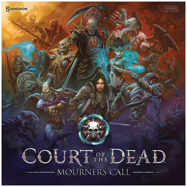 Court of the Dead: Mourners Call Board Game - EN (KS version)