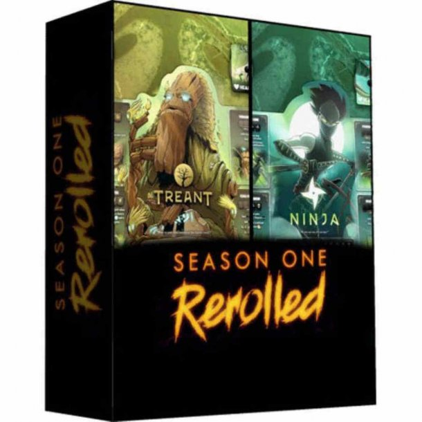 Dice Throne: Season One Rerolled - Treant Vs. Ninja - EN