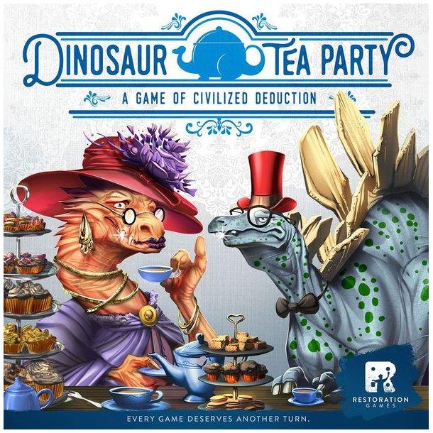 Dinosaur Tea Party - EN