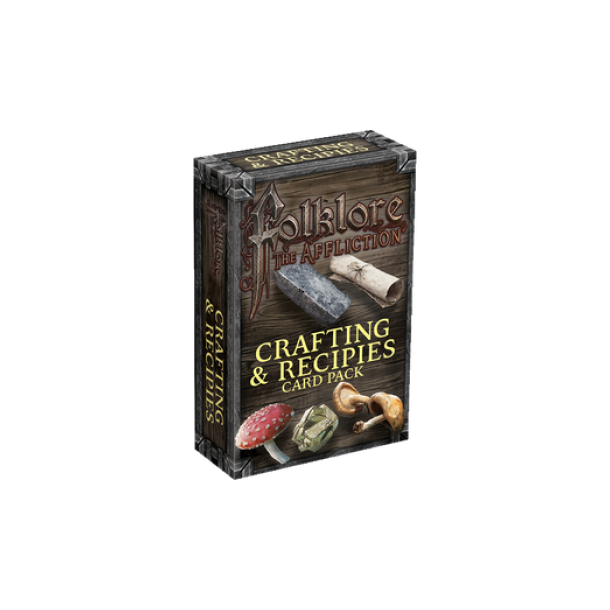 Folklore: The Affliction - Crafting & Recipes Card Pack - EN