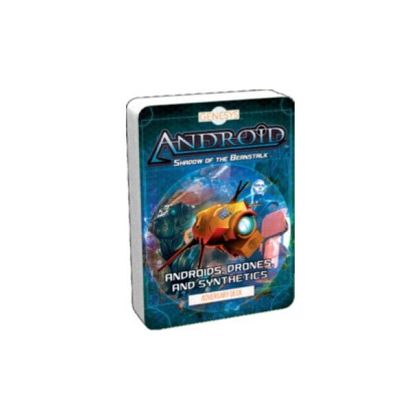 Genesys RPG Androids, Drones, and Synthetics Adversary Deck - EN