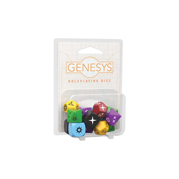 Genesys RPG Roleplaying Dice Pack - EN