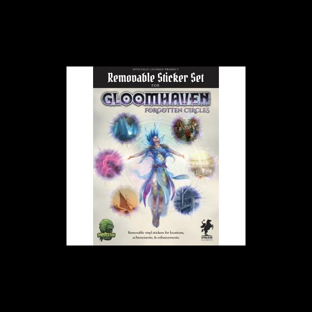 Gloomhaven - Removable Sticker Set: Forgotten Circles - EN