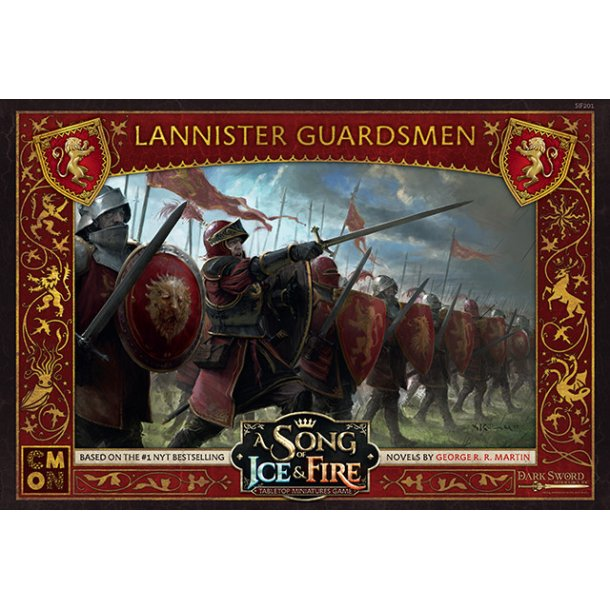 A Song Of Ice And Fire: Lannister Guardsmen - EN
