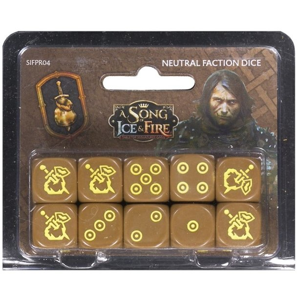A Song of Ice & Fire: Mercenaries Dice