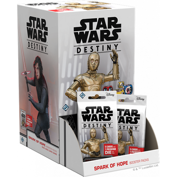 Star Wars: Destiny - Spark of Hope Booster Display (36 Packs) - EN
