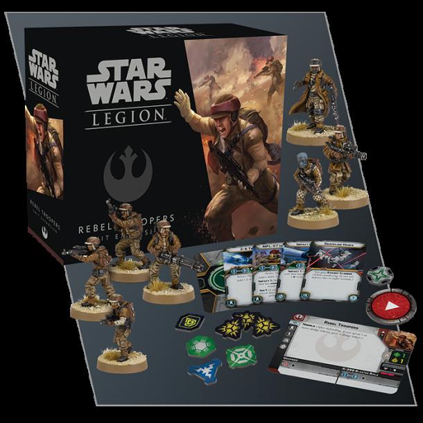 Star Wars Legion - Rebel Troopers Unit Exp
