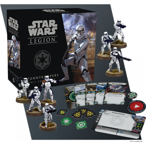 Star Wars Legion - Stormtroopers Unit Exp.