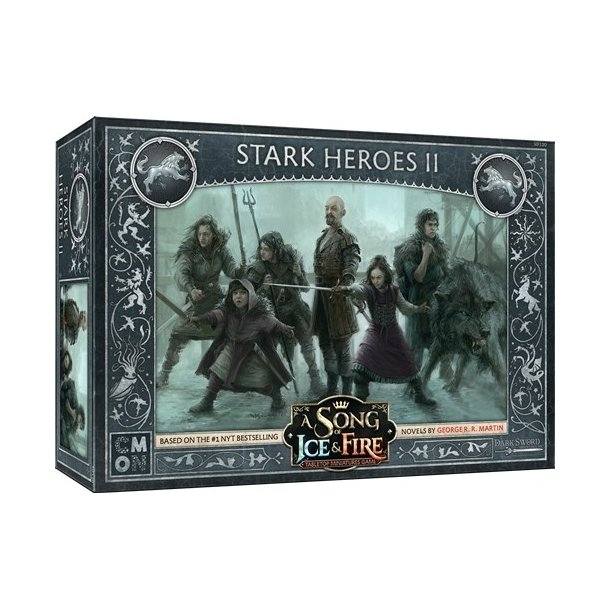 A Song of Ice & Fire: Tabletop Miniatures Game - Stark Heroes 2 - EN
