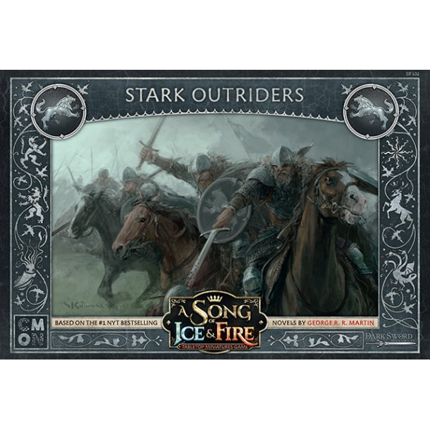 A Song Of Ice And Fire: Stark Outriders - EN