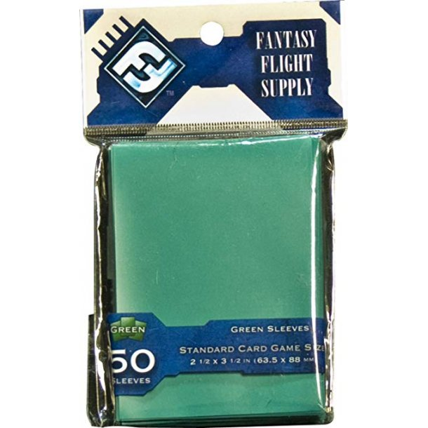 Supply Color Sleeves - Standard Green (50 Sleeves)