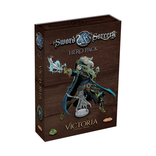 Sword & Sorcery: Hero Pack Victoria the Captain/Pirate