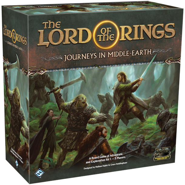 The Lord of the Rings: Journeys in Middle-Earth Board Game- EN