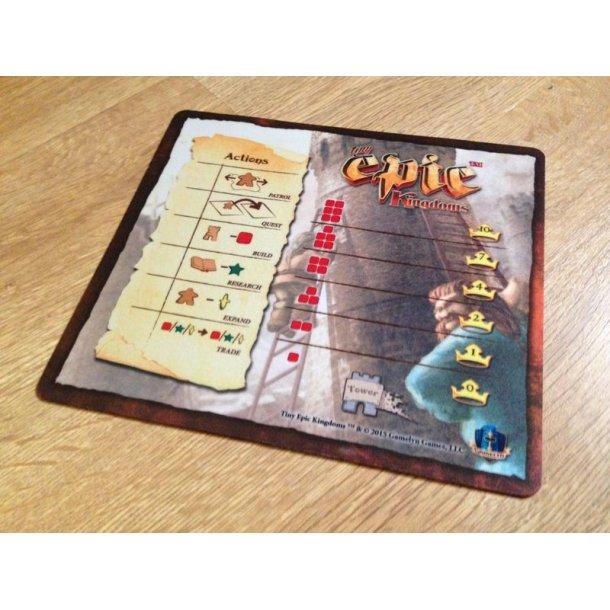 Tiny Epic Kingdoms Action/Tower Mat