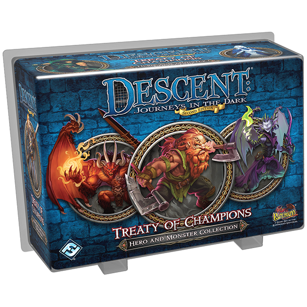 Descent: Journeys in the Dark (Second Edition) - Treaty of Champions
