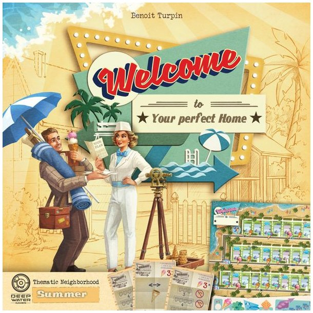 Welcome To...: Summer Thematic Neighborhood - EN