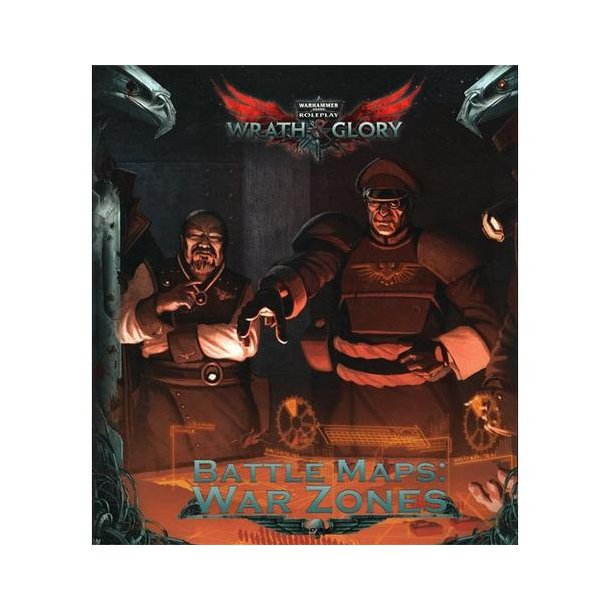 Wrath & Glory: Battle Maps - War Zones - EN