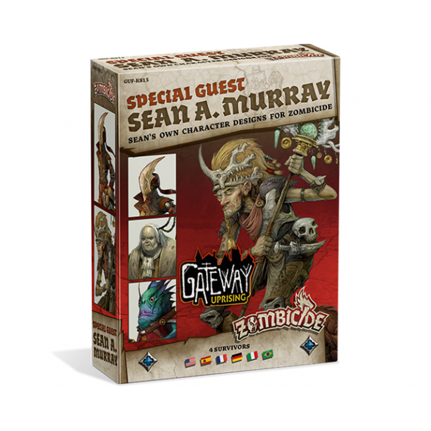 Zombicide: Green Horde - Special Guest Box - Sean A. Murray 2 - EN